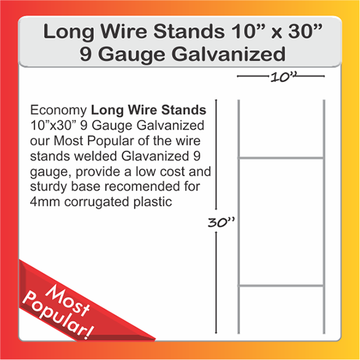 LARGE WIRE STANDS 30""