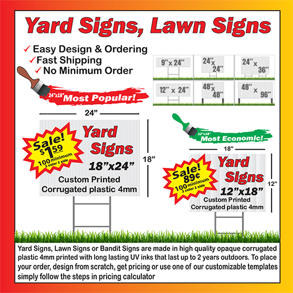 YARD SIGNS ORDER HERE: